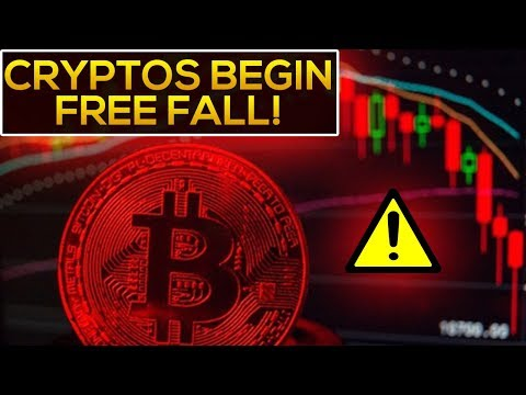 Cryptocurrency FREE FALL Begins! (BE WARNED & PREPARED!!!)
