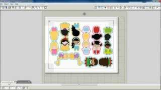 TUTORIAL: How to make Magnetic Bookmarks with Silhouette Studio by print-and-cut (Part 1)