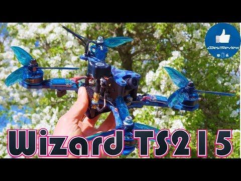 Фото ✔ Eachine Wizard TS215 - Мощный FPV Квадрокоптер, Но...