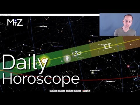 Daily Horoscope Tuesday August 21st 2018 - True Sidereal Astrology