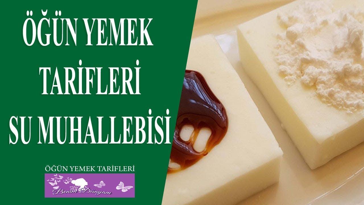 Şekersiz Muhallebi Tarifi ( Su Muhallebisi )