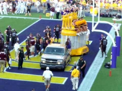 LSU football: Newest Mike The Tiger begins his reign on campus