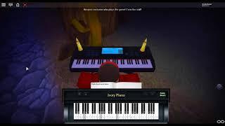 Day Theme - Terraria de: Scott Lloyd Shelly sur un piano ROBLOX.