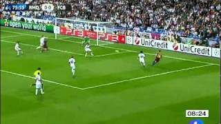 Real Madrid vs Barcelona (0-2) 27/04/2011 Resumen HD Champions League UEFA