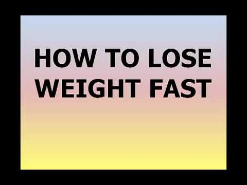 How To Lose Weight Fast: Schockingly Easy Way To Lose 10 Pounds In 1 Week | How To Lose Weight Fast