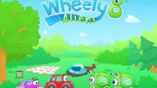 Машинка Вилли 8 прохождение игры  / Wheely 8 Aliens Walkthrough