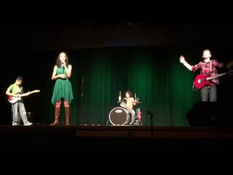 BRMS 8th Grade Talent Show - Performance by the band TRANSIT