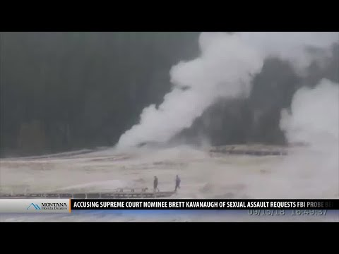 New thermal activity reported near Old Faithful in Yellowstone