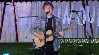 Ed Sheeran All Of The Stars Live At TFIOS Premiere