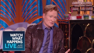 Why Were Conan O'Brien And Ryan Reynolds Making Out? | WWHL