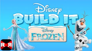 Disney Build It: Frozen (By Disney) - Elsa's Ice Castle - iOS / Android Gameplay