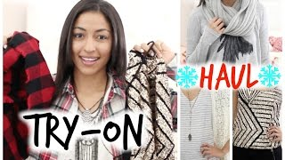 Winter Try-On Clothing HAUL♡ Urban Outfitters & More