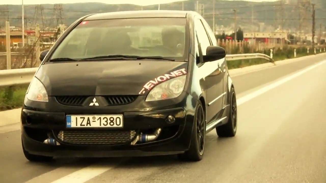 Mitsubishi Colt Czt A Small Black Beast Youtube