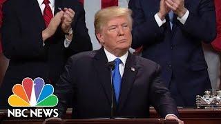 President Donald Trump Touts GOP Tax Cuts At State Of Union Address | NBC News