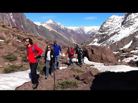 Valley Engorda at Cajon Del Maipo in Santiago de Chile