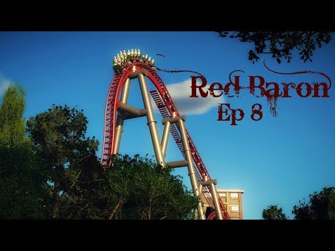 Red Baron | 1867 ~ Intamin Blitz Coaster | Episode 8 (Planet Coaster)