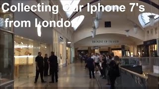 Gambar cover Collecting our Apple Iphone from The Apple Store Bluewater Mall  London