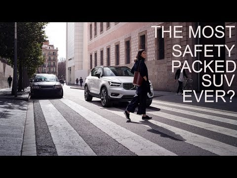 Volvo XC40 | The Most Safety Packed SUV Ever? | Features | Safety | Movie