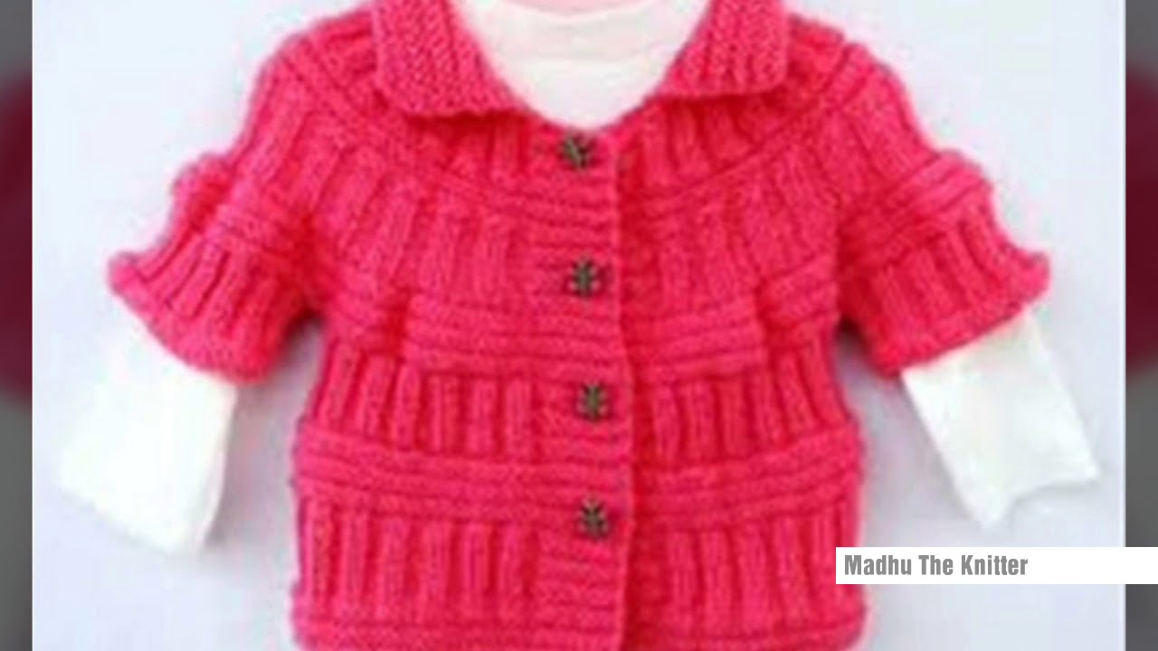 d0d8f33513a3 HANDMADE WOOLEN SWEATER DESIGN FOR KIDS OR BABY in HINDI