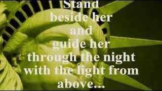 GOD BLESS AMERICA (Lyrics) - CELINE DION