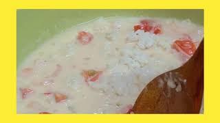 백주부의 냉장고속 정리 요리 (새우 리조또)