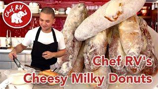 CHEESY MILKY DONUTS
