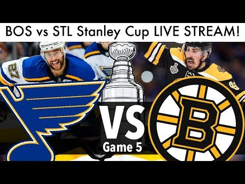 Bruins Vs Blues Stanley Cup Final Game 5 LIVE STREAM! (NHL/Hockey Playoffs Reaction & Talk 2019)