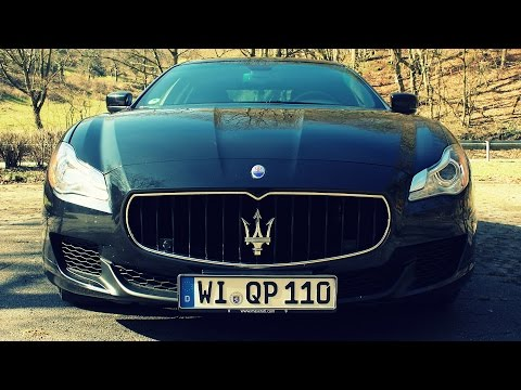 ' 2015 Maserati Quattroporte ' Test Drive & Review - TheGetawayer