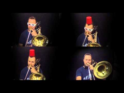Doctor Who Theme - Trombone Cover