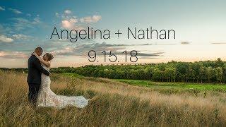 Angelina & Nate Wedding Ranch Golf Course