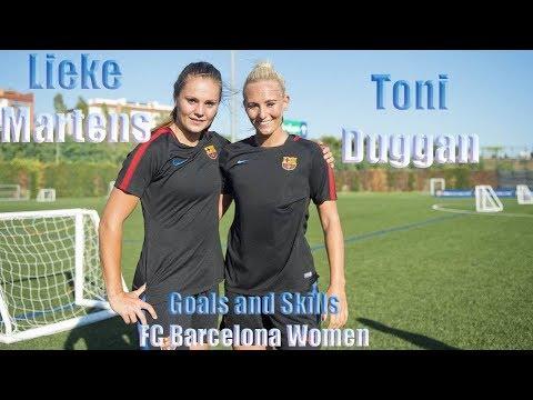 Toni Duggan vs Lieke Martens GOAL SHOW 2018 ( FC Barcelona Women)