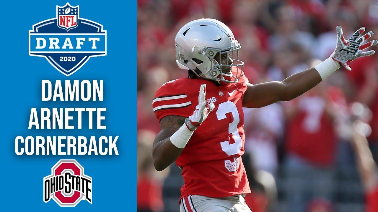 Damon Arnette Las Vegas Raiders Cornerback Ohio State 2020 Nfl Draft Profile Youtube