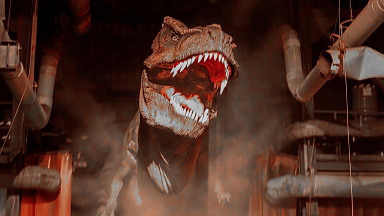 Jurassic Park The Ride River Adventure Hd Pov Universal Studios Hollywood California Youtube