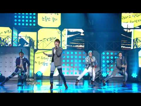 음악중심 - N-Train - One Last Cry, 엔트레인 - 울면서 울어,Music Core 20110709