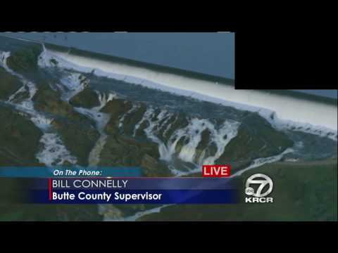 Oroville, CA !!EMERGENCY EVACUATION ORDERED!! - !!EMERGENCY SPILLWAY FAILURE IMMINENT!! - 02/12/2017