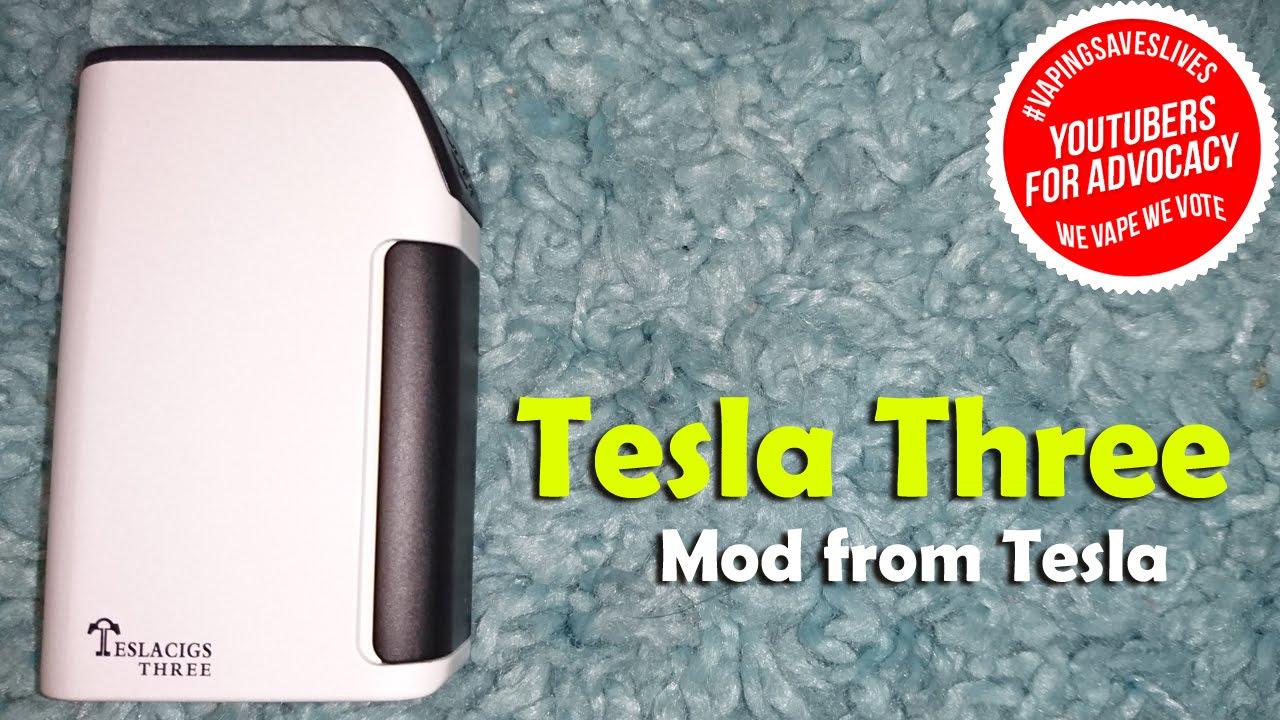 Tesla 3 Three Box Mod - Review - YouTube