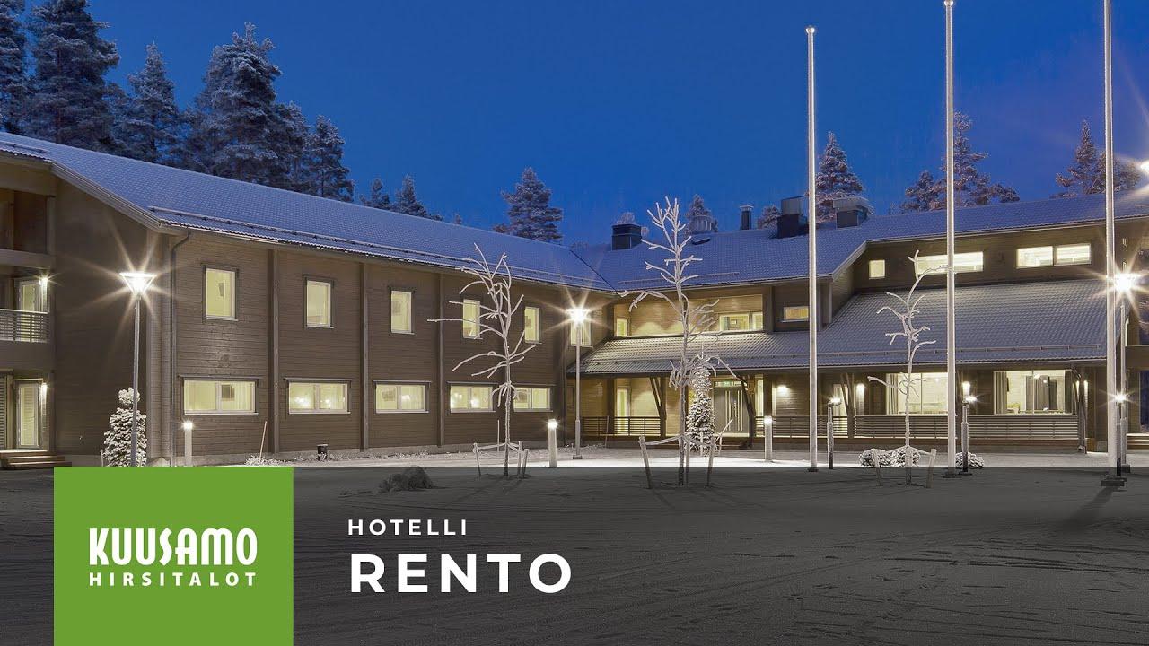 Kuusamo Hirsitalot: Hirsihotelli Rento