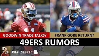 49ers Rumors: Marquise Goodwin Trade? Frank Gore Return? Matt Breida? 49ers Draft Trade With Colts?