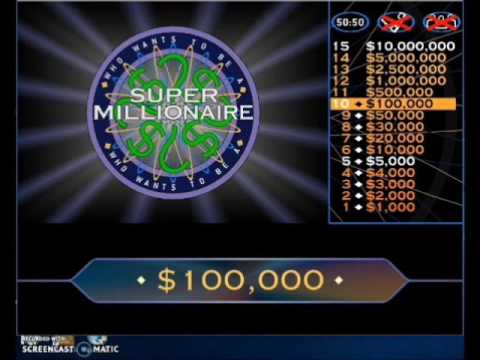 Who Wants To Be A Millionaire Online Game Uk