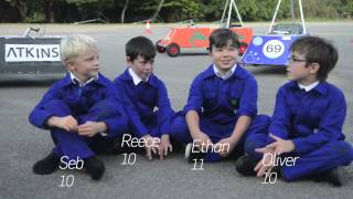 Students revved up by Greenpower Trust car engineering and racing project