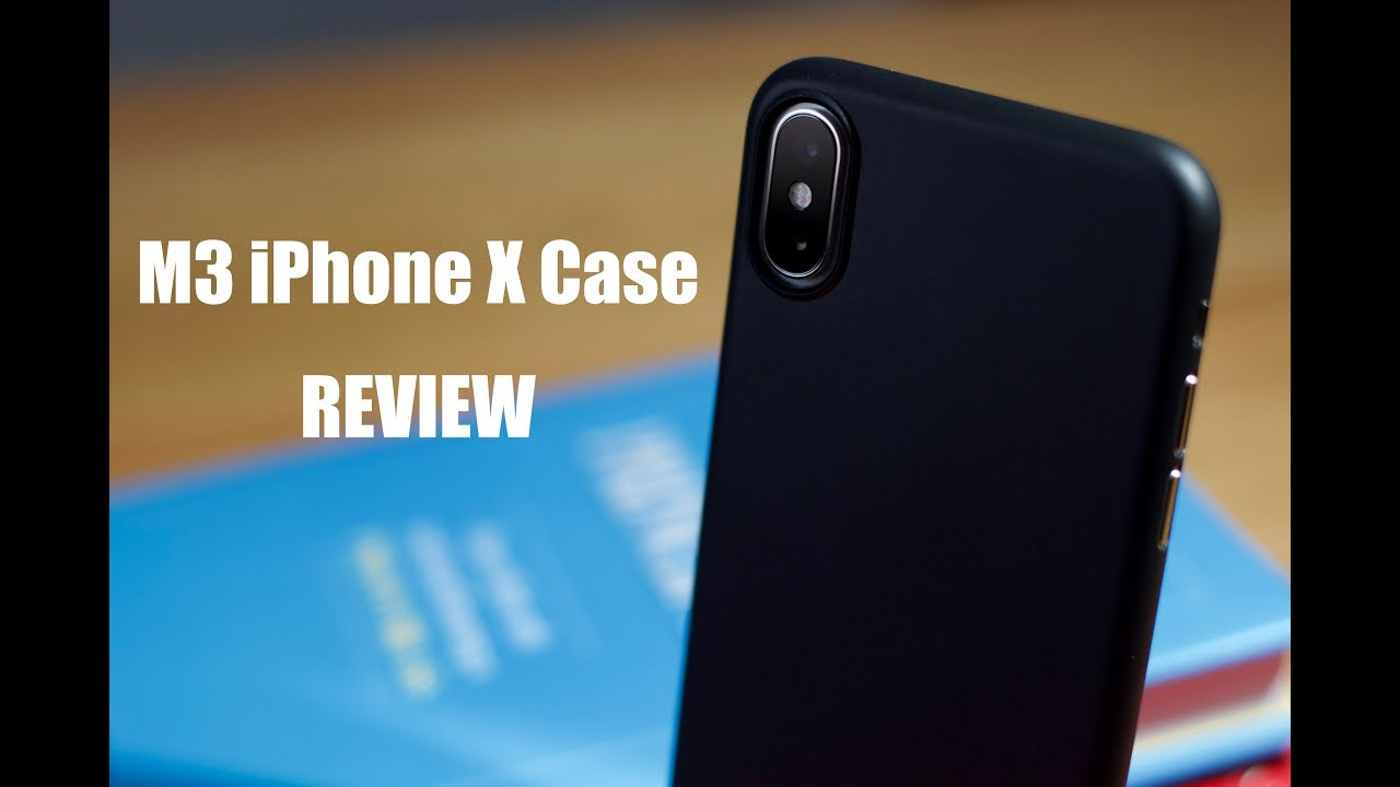 los angeles 90d1a e9e02 M3 iPhone X Case (Matte Black) - Review!