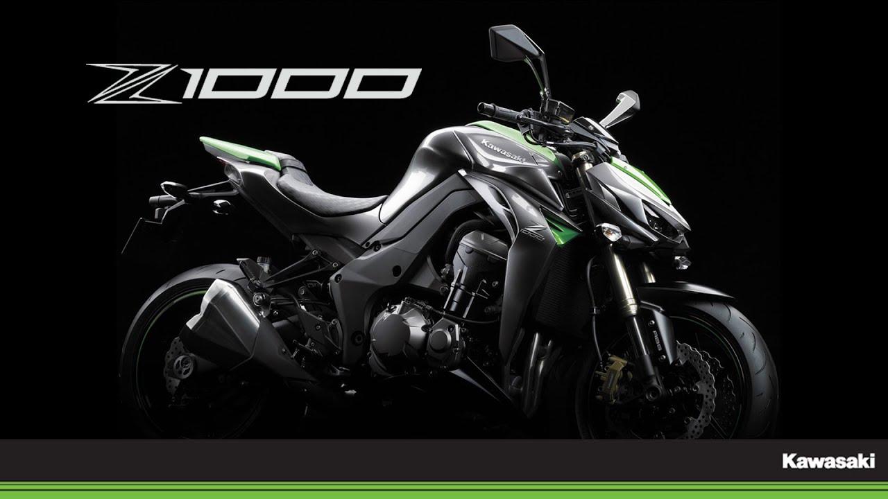 Insane Kawasaki Bike Hd Wallpaper: Das Ultimative Naked Bike: Kawasaki Z1000