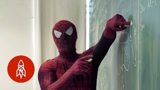Hanging With the Spider-Man of the Science Department