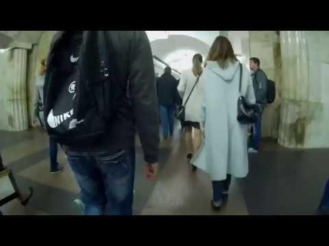 Менделеевская и Новослободская: метро и переход