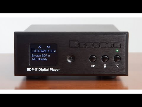 Audio Advisor - Bryston BDP-Pi Digital Music Player