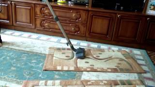 видео моющий пылесос томсон