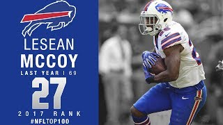 #27: LeSean McCoy (RB, Bills) | Top 100 Players of 2017 | NFL