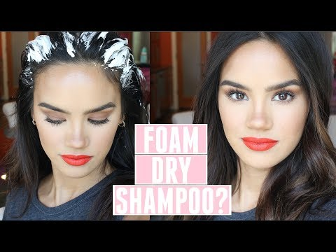 trying-foam-dry-shampoo-for-the-first-time!-ft-ouai!-|-dacey-cash
