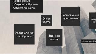 Инструкция о проведении общего собрания собрания собственников в очно-заочной форме 2019
