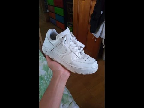 How To Clean, Unyellow Annd Uncrease Your Air Force 1's